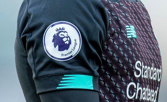 Het logo van de Premier League.