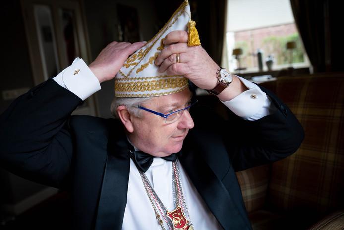 Wim Roelofs neemt afscheid als voorzitter van de Kroanige Swoane.