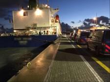 Verstekelingen tussen lading bananen aangetroffen in Vlissingse haven