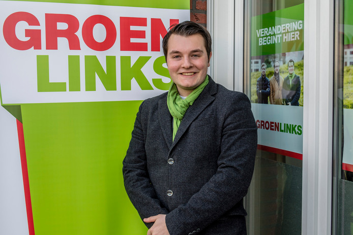 Simon Jacobs, 21 jaar, wil gemeenteraad in