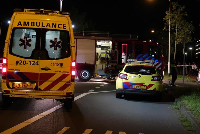 Ernstig ongeval motor en auto op de Ettensebaan in Breda