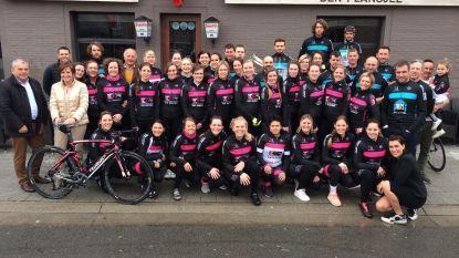 Les Assiettes: nieuwe damesploeg uit Sint-Laureins springt elke woensdagavond op de fiets