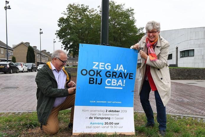 Léon Kamps (VPGrave) en Marion Wierda (D66) maakten al eerder duidelijk dat Grave zich aan moet sluiten bij Cuijk, Boxmeer en Sint Anthonis, zoals Mill en Sint Hubert nu ook heeft gedaan.