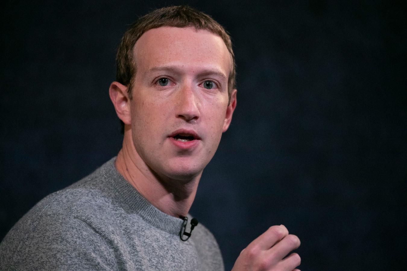 Topman Mark Zuckerberg