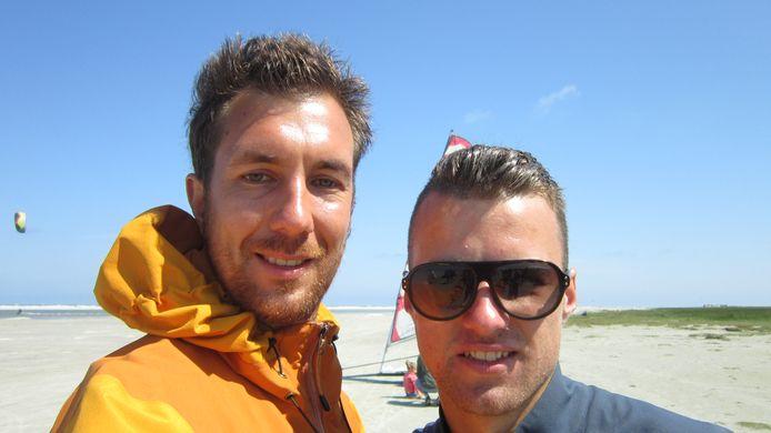 Julian Niewold (links), met zijn broertje Tallander, die omkwam bij de ramp met de MH17. Julian maakte met zijn broer Odulf voor Break Free de reis af die Tallander had willen maken. In de eerste aflevering van Break Free staat Tallander centraal.