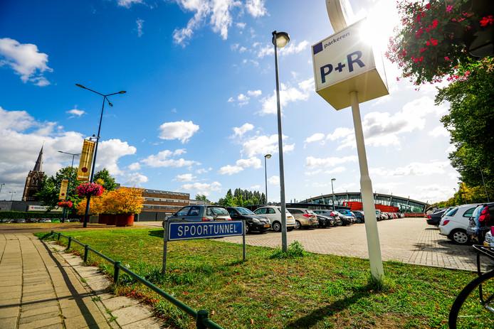 Het stationsgebied van Best.