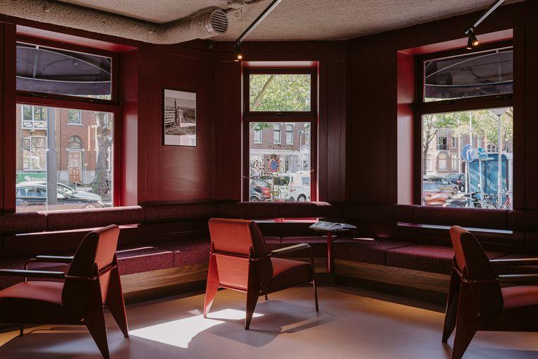 Supernova Hotel, in een historisch pand in de rosse buurt van Rotterdam. Beeld
