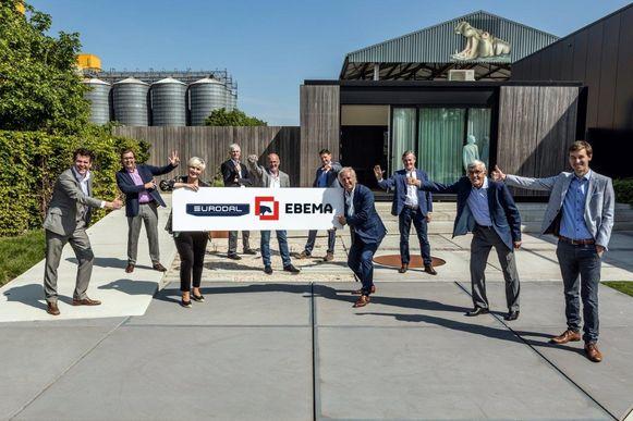 De Kempense betonbedrijven Eurodal en Ebema slaan de handen in elkaar