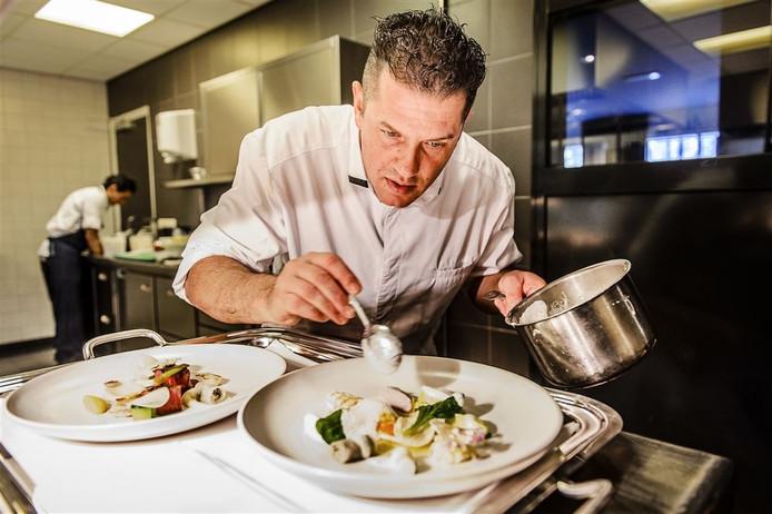 Chef-kok Jacob Jan Boerma is een van de topkoks die gaat koken bij de luxebeurs.