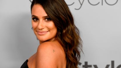 'Glee'-ster Lea Michele is getrouwd