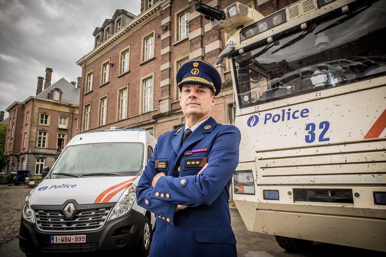 """Marc De Mesmaeker staat sinds juni vorig jaar aan het roer van de federale politie. """"Ik ben alle arrondissementen afgelopen en heb met honderden mensen gesproken."""""""