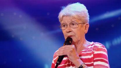 Oma rapt voor diversiteit in 'Belgium's Got Talent'