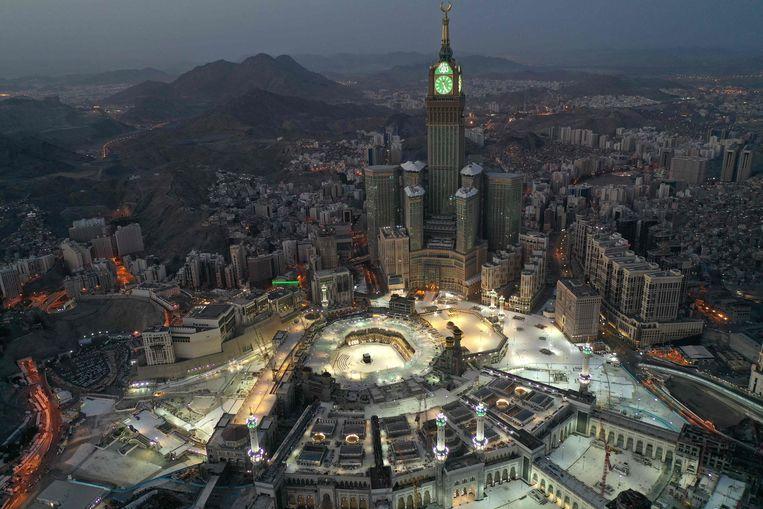 De heilige stad Mekka, eind vorige maand. Beeld AFP