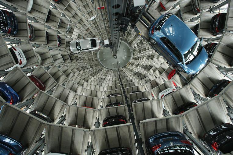 In 2015 werd bekend dat Volkswagen zich op grote schaal schuldig had gemaakt aan het gebruik van zogenoemde defeat devices met software die auto's schoon liet lijken tijdens emissietests.  Beeld Getty Images