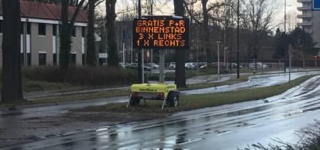 Chaos met verkeer in binnenstad Eindhoven blijft, ondanks nieuwe maatregelen