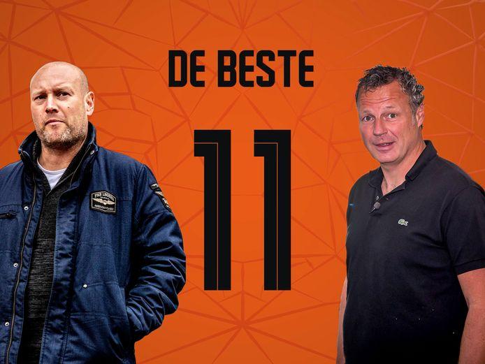De beste elf van Maarten Wijffels en Mikos Gouka