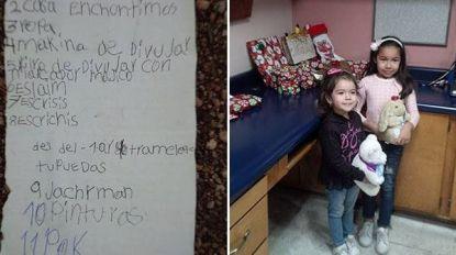 """Kerstman schreef 8-jarige Dayami nooit terug tot hij op een dag zijn kleine helpers stuurde: """"Een mirakel"""""""
