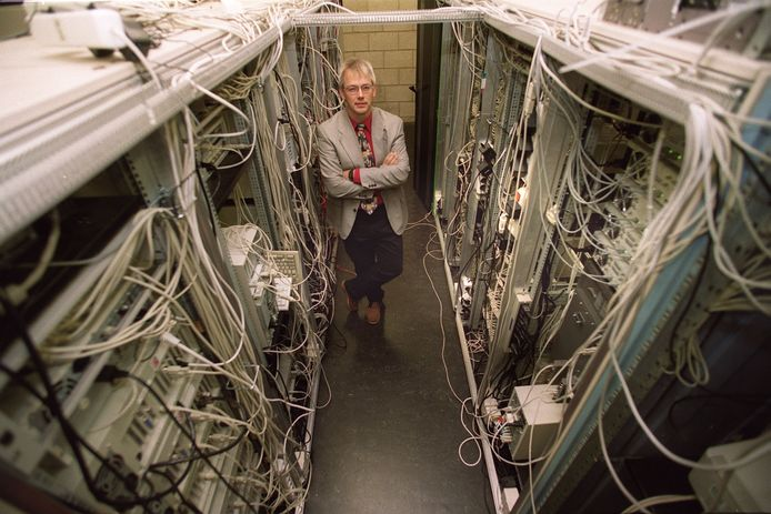 Willem-Jan Withagen van Internet Access Eindhovenin 1999.