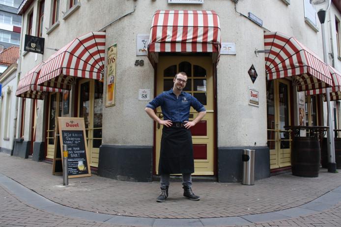 Teun Vugts voor café Kandinsky
