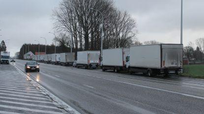 Gemeenteraad keurt parkeerverbod voor vrachtwagens langs N8 goed