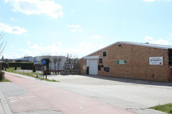 Het nieuwe ziekenhuis is gepland op deze site naast het Vianderdomein aan de Hamelendreef.