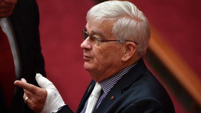 De meest bizarre 24 uur in de Australische politiek: beschuldigingen van seksueel misbruik, vechtpartij en bloed op de deur