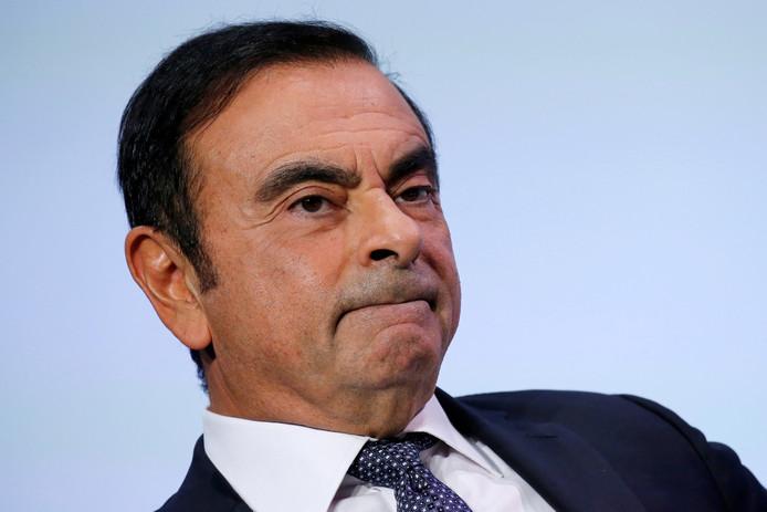 Voormalig Nissan-topman Carlos Ghosn.