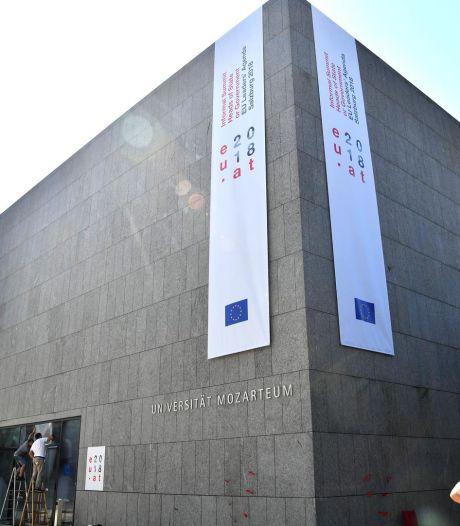 Tensions migratoires et sprint final du Brexit au menu des 28 à Salzbourg