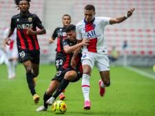 Teruggekeerde Mbappé helpt Paris Saint-Germain aan zege in Nice