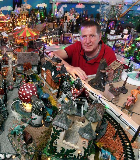 Jan Robbe heeft de Efteling in zijn huiskamer, en alles tingeltangelt: 'Ik had het geld ook op kunnen drinken'
