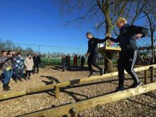 Stormbaan bij SC Kruisland geopend: Tokkelend naar een goddelijk lichaam