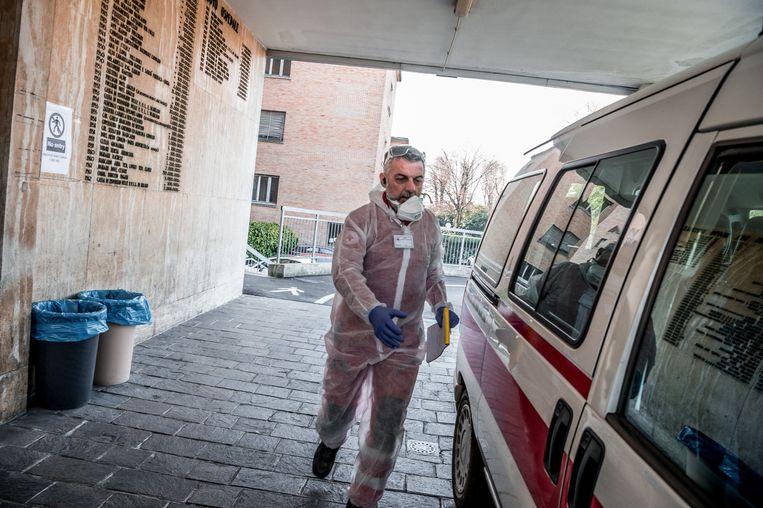 Het Italiaanse Codogno is quasi afgesloten van de buitenwereld.