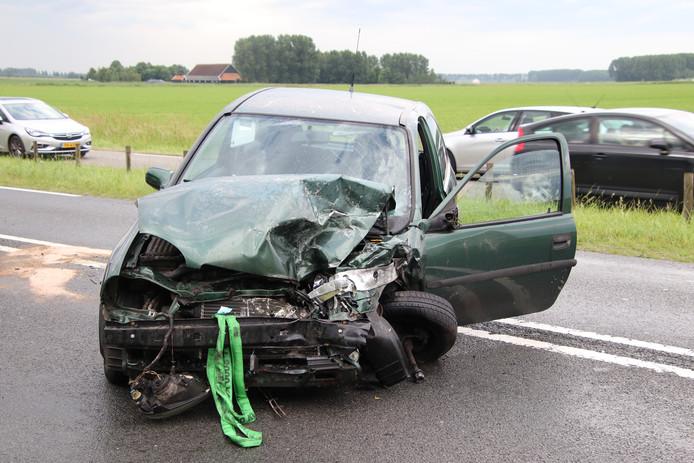 Gewonden bij ongeluk