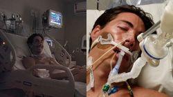 Man (34) krijgt muggenbeet en vecht even later voor zijn leven