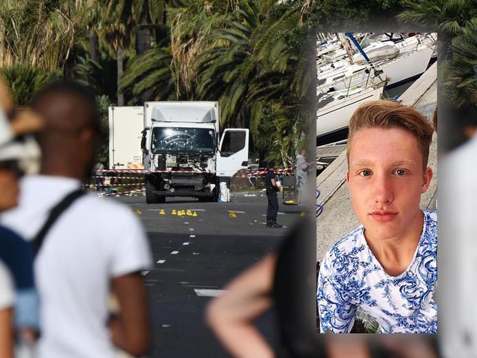 Francesco zag verschrikkelijke dingen in Nice: 'Ik zag een meisje van twee liggen'