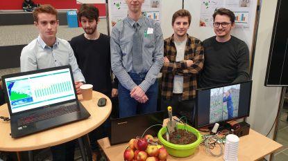 Van meetsysteem voor wijnbouw tot live-tracking in de haven van Antwerpen: IT-studenten ontwikkelen slimme systemen voor bedrijven