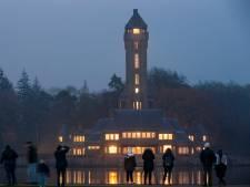 Jachthuis Sint Hubertus baadt in het licht