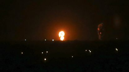 Israël bombardeert Gaza na Palestijnse raketlanceringen