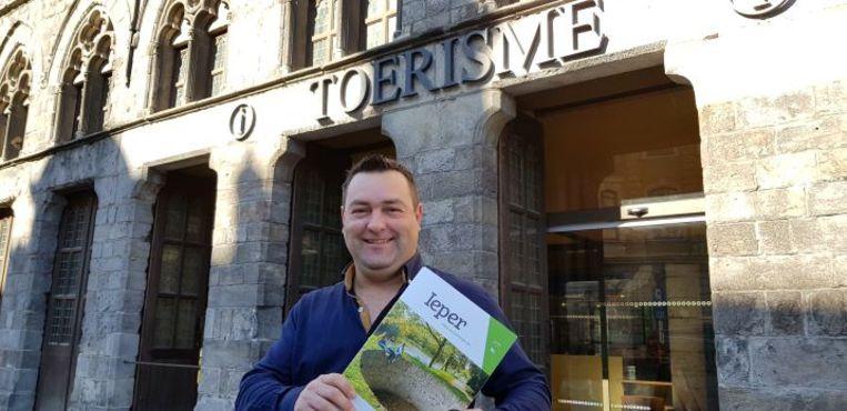 Schepen van Economie  Diego Desmadryl wil Nederlandse toeristen warm maken voor een bezoek aan de Kattenstad.