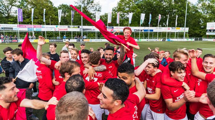Excelsior'31 werd kampioen van de hoofdklasse en gaat naar de derde divisie.
