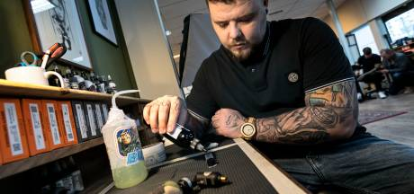 Tattoo Joey uit Geldrop: geen verpleger maar tatoeëerder