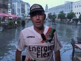 Henniesee op regenachtige Grote Markt over NEC - FC Dordrecht