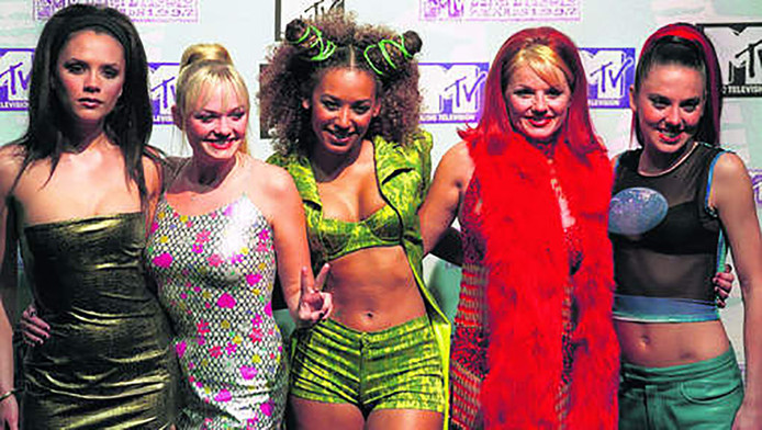 De Spice Girls in 1997