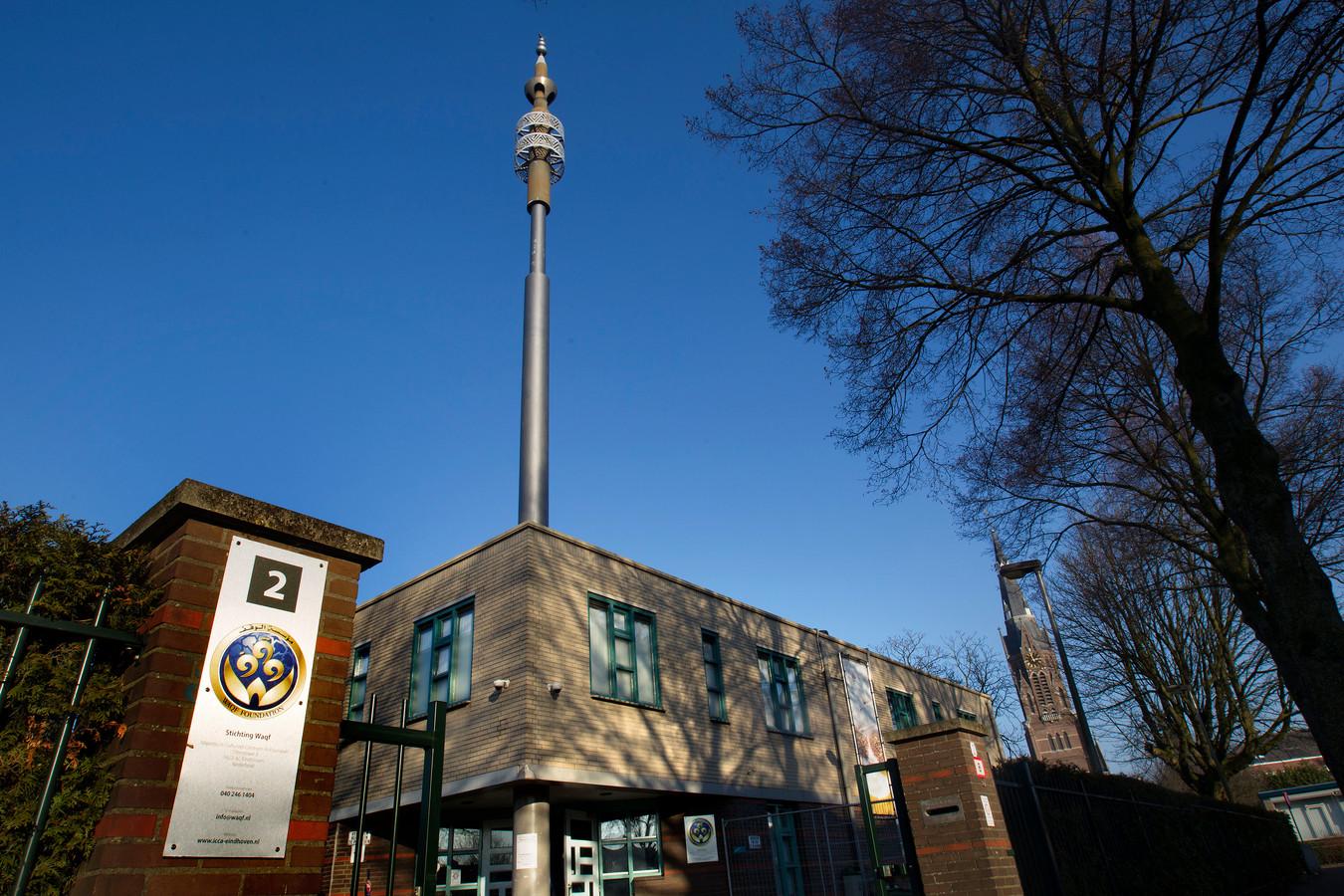 Eindhoven - De Al Fourqaan moskee aan de Otterstraat (archieffoto)