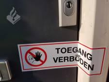 Woning in Dongen gesloten na aantreffen hennepkwekerij