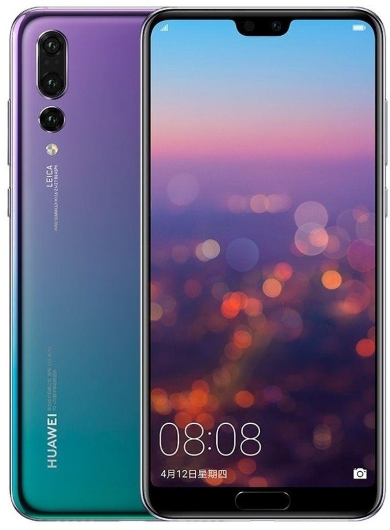 Huawei's P20 pro heeft achteraan drie lenzen.