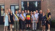 Belgisch kampioen Stijn Degeest gehuldigd door gemeentebestuur