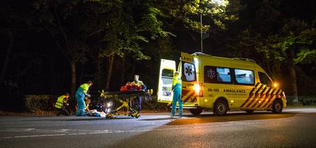 Quadrijder gewond na ongeluk bij Wapenveld