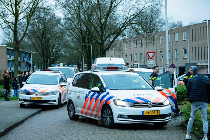 Het incident was in de Matterhornstraat