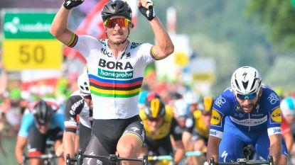 Sagan voor de zestiende keer aan het feest in Zwitserland, Küng blijft leider